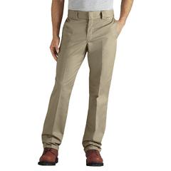 DKIWP833-DS-36-32 - DickiesMens Regular-Fit Tapered-Leg Ringspun Work Pants
