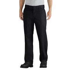 DKIWP835-BK-38-30 - DickiesMens Slim-Fit Tapered-Leg Twill Work Pants