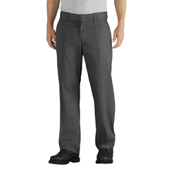 DKIWP835-VG-44-32 - DickiesMens Slim-Fit Tapered-Leg Twill Work Pants
