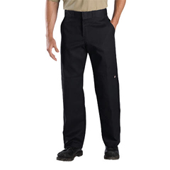 DKIWP852-BK-32-34 - DickiesMens Relaxed-Fit Double-Knee Pants