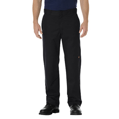 DKIWP882-BK-36-32 - DickiesMens Regular-Fit Straight Double-Knee Pants