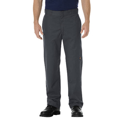 DKIWP882-CH-34-34 - DickiesMens Regular-Fit Straight Double-Knee Pants