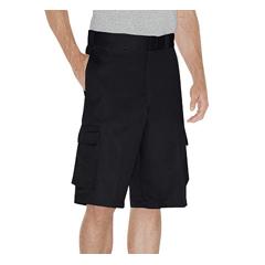 DKIWR888-BK-34 - DickiesMens Loose-Fit Rigid Shorts