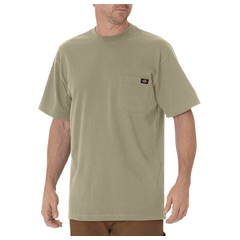 DKIWS450-DS-3X - DickiesMens Short Sleeve Heavyweight Crew Neck Tee Shirts