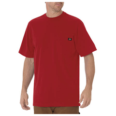 DKIWS450-ER-L - DickiesMens Short Sleeve Heavyweight Crew Neck Tee Shirts