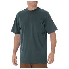 DKIWS450-LN-XL - DickiesMens Short Sleeve Heavyweight Crew Neck Tee Shirts
