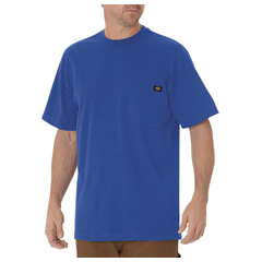 DKIWS450-RB-M - DickiesMens Short Sleeve Heavyweight Crew Neck Tee Shirts