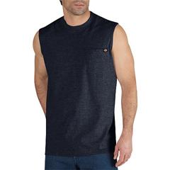 DKIWS452-DN-3X - DickiesMens Sleeveless Pocket Tee Shirts