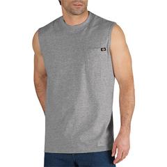 DKIWS452-HG-3X - DickiesMens Sleeveless Pocket Tee Shirts