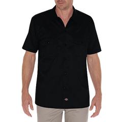 DKIWS576-BK-L - DickiesMens Short Sleeve Twill Mens Work Shirts