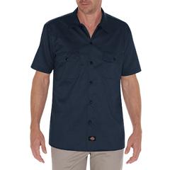 DKIWS576-DN-M - DickiesMens Short Sleeve Twill Mens Work Shirts