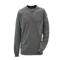 DKI56950DGY9LG-0R - Walls FRMens Flame Resistant Long Sleeve Henley