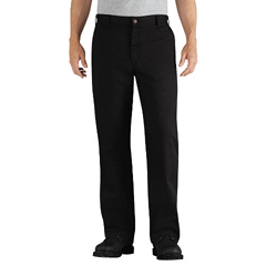 DKIDFP881BK-44-32 - Dickies FRMens Flame Resistant Relaxed-Fit Twill Work Pant