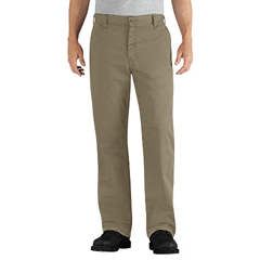 DKIDFP881KH-35-30 - Dickies FRMens Flame Resistant Relaxed-Fit Twill Work Pant