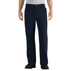DKIDFP881NV-35-34 - Dickies FRMens Flame Resistant Relaxed-Fit Twill Work Pant
