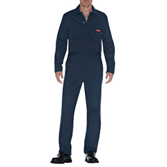DKIJV100NV-XL-S - Dickies FRMens Flame Resistant Long Sleeve Twill Coverall