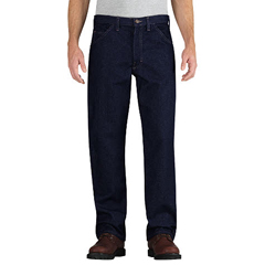 DKIRU900NB-42-36 - Dickies FRMens Flame Resistant Relaxed-Fit Straight Leg Carpenter Pant