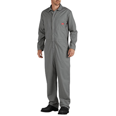 DKIRV700GY-3X-TL - Dickies FRMens Flame Resistant Long Sleeve Lightweight Coverall
