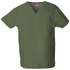 DKS83706-OLWZ-M - Dickies - EDS Signature® Unisex V-Neck Top