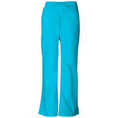 DKS86206-TQWZ-XS - Dickies - EDS Signature® Womens Mid Rise Drawstring Cargo Pant