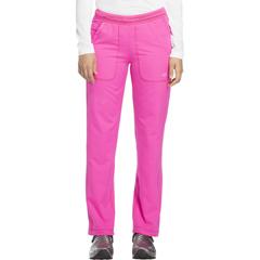 DKSDK120T-COPK-S - Dickies - Dynamix® Womens Mid Rise Straight Leg Pull-on Pant
