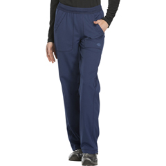 DKSDK120T-NAV-L - Dickies - Dynamix® Womens Mid Rise Straight Leg Pull-on Pant