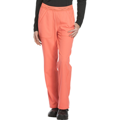 DKSDK120P-VCRL-S - Dickies - Dynamix® Womens Mid Rise Straight Leg Pull-on Pant