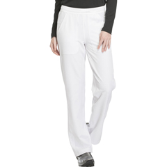 DKSDK120T-WHT-2XL - Dickies - Dynamix® Womens Mid Rise Straight Leg Pull-on Pant