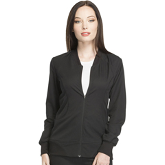 DKSDK330-BLK-M - Dickies - Dynamix® Womens Zip Front Warm-up Jacket