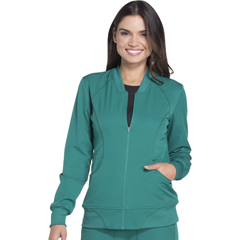 DKSDK330-HUN-XS - Dickies - Dynamix® Womens Zip Front Warm-up Jacket