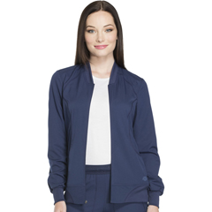 DKSDK330-NAV-XS - Dickies - Dynamix® Womens Zip Front Warm-up Jacket