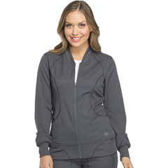 DKSDK330-PWT-XXS - Dickies - Dynamix® Womens Zip Front Warm-up Jacket