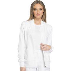 DKSDK330-WHT-XL - Dickies - Dynamix® Womens Zip Front Warm-up Jacket