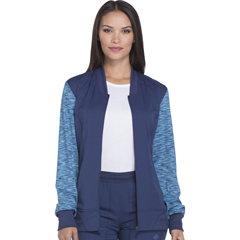 DKSDK340-NAV-S - Dickies - Dynamix® Womens Zip Front Warm-up Jacket