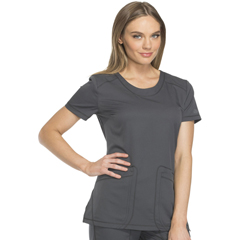 DKSDK720-PWT-XL - Dickies - Dynamix® Womens Rounded V-Neck Top