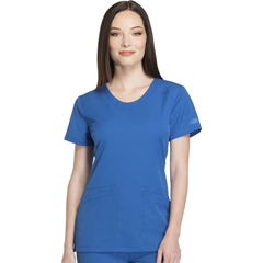 DKSDK720-ROY-L - Dickies - Dynamix® Womens Rounded V-Neck Top