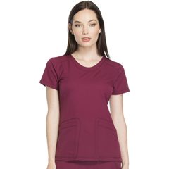 DKSDK720-WIN-XS - Dickies - Dynamix® Womens Rounded V-Neck Top