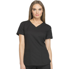 DKSDK730-BLK-3XL - Dickies - Dynamix® Womens V-Neck Top