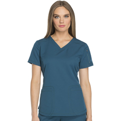 DKSDK730-CAR-2XL - Dickies - Dynamix® Womens V-Neck Top
