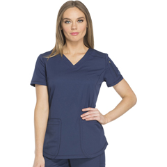 DKSDK730-NAV-L - Dickies - Dynamix® Womens V-Neck Top