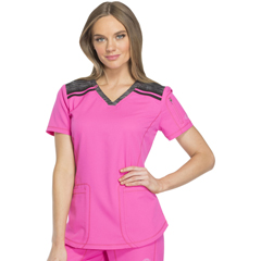 DKSDK740-COPK-3XL - Dickies - Dynamix® Womens V-Neck Top