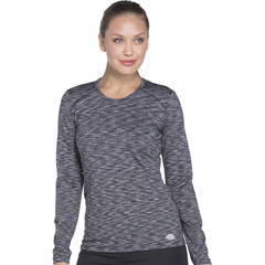 DKSDK920-BLK-XS - Dickies - Dynamix® Womens Underscrub Long Sleeve Knit Tee