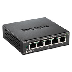 DLIDES105 - D-Link® Unmanaged 10/100 Switch
