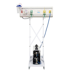 DIAHW040801 - DiaMedical USA - 36 Mobile Sapphire Headwall Package For Simulation