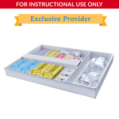 DMLLC027921 - SimLabSolutionsLoaded 5 Drawer Emergency Crash Cart&Trade; Refill Kit For Simulation