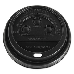 DOPDDL124BLD - Dopaco® Dome Lids for Hot Paper Cups