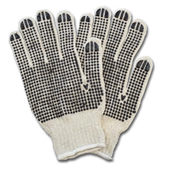 SFZGSBD-WN-2C-20 - Safety ZonePVC-Double Dotted Gloves - Womens