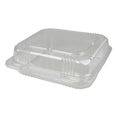DPKPXT880 - Durable Packaging Plastic Clear Hinged Containers, 250/CT