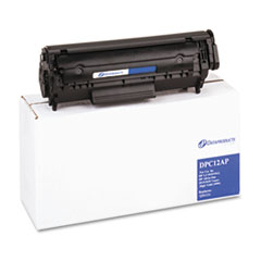 DPSDPC12AP - Dataproducts Remanufactured Q2612A (12A) Toner, 2000 Page-Yield, Black