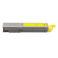DPSDPC3400Y - Dataproducts DPC3400Y Compatible High-Yield Toner, 2500 Page-Yield, Yellow